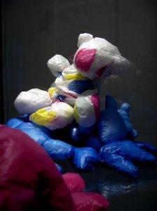 Oursons sacs plastic